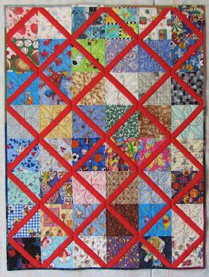 Lattice Quilt Tutorial: Scrap Quilts, Charity Quilts, Quilts Patterns, Quilts Lattices, Blocks Tutorials, Quilts Blocks, Lattices Quilts, Quilts Ideas, Quilts Tutorials