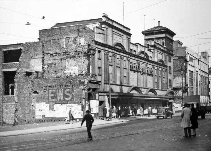 Lime Street, 1948, Liverpool. Just after Second World War.