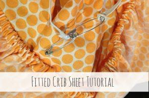 Rootandblossom: Fitted Crib Sheet Tutorial