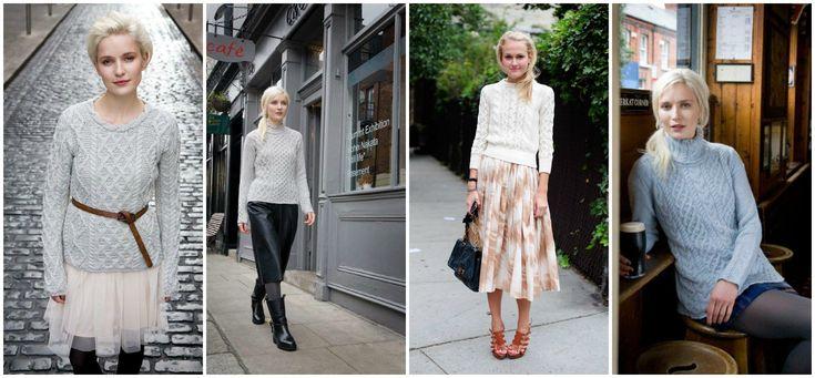 Aran Sweater with Skirt