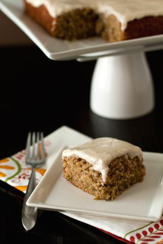 Spiced Zucchini Cake Recipe on Yummly. @yummly #recipe