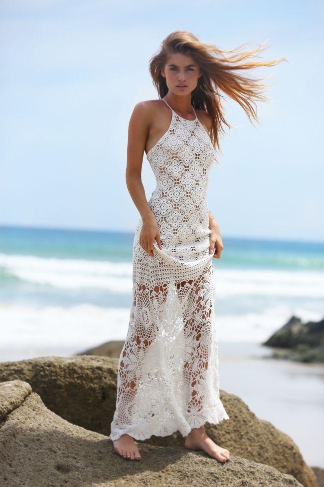 robe longue crochet Miss June