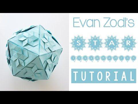 Star Icosahedron Tutorial - YouTube