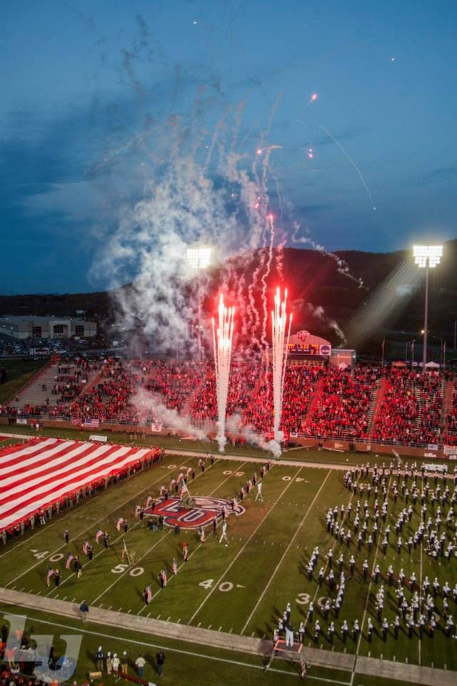 Liberty University football team hosts Monmouth University on Military Appreciation Day on November 7, 2014.