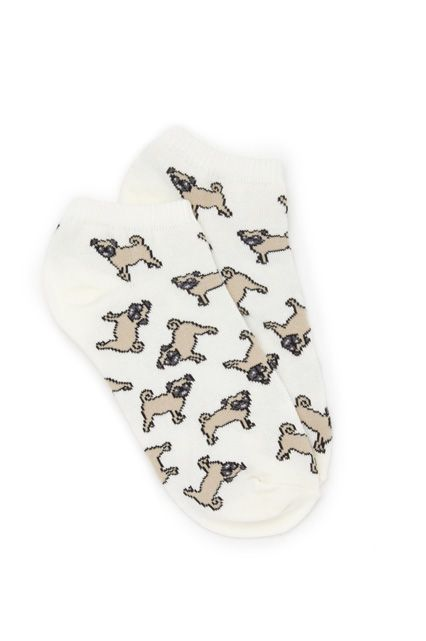 """My life goal is to own a pug. But, at the ripe age of 21, I'm not at a place to be a dog owner just yet. These adorable Forever 21 socks give me a subtle (and incredibly cute) outlet for my obsession."" — Ana Colon, shopping production assistant"