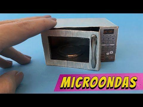 Coisas que Gosto: Como fazer um Microondas para Barbie e outras bone...