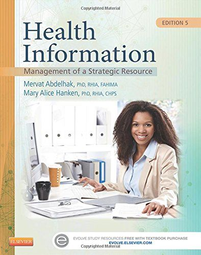 Health Information Management Of A Strategic Resource E By Mervat Abdelhak Phd Rhia Fahima Business Ideas Ukhealth