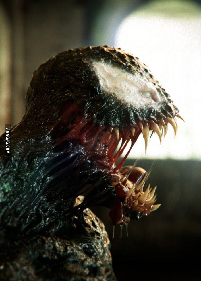 Awesome Venom 3D model #cg #render #fan #art #venom #spiderman #marvel