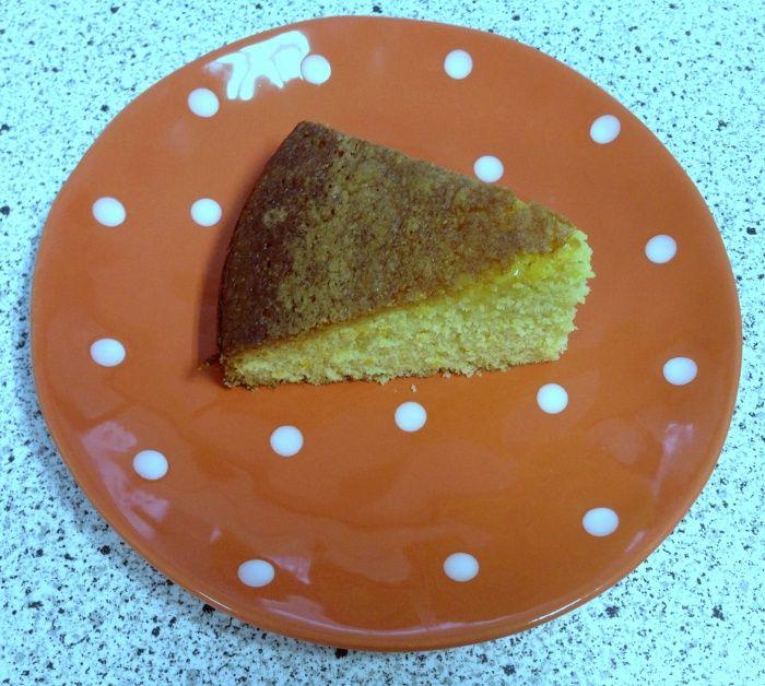 Thermomix Orange Polenta Cake