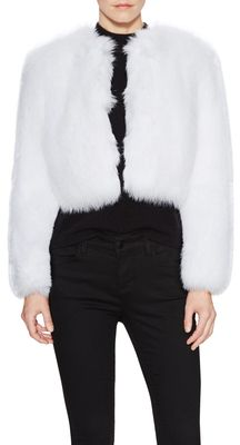 $2,500, Fox Chubby Short Coat. Sold by Gilt. Click for more info: https://lookastic.com/women/shop_items/357793/redirect