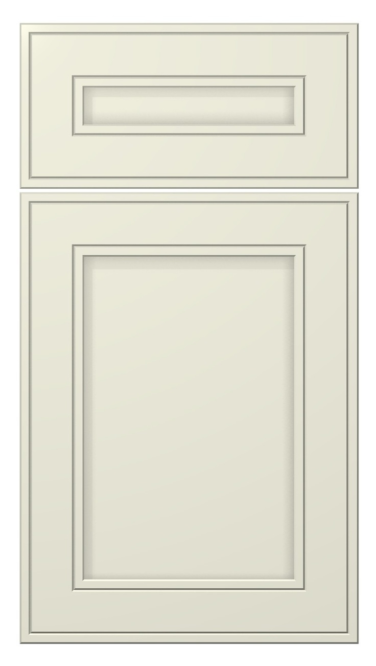 Westcoast Door Style Painted Antique White Kitchen