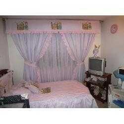 M s de 1000 im genes sobre dormitorios de ni a en - Como hacer cortinas para dormitorios paso a paso ...