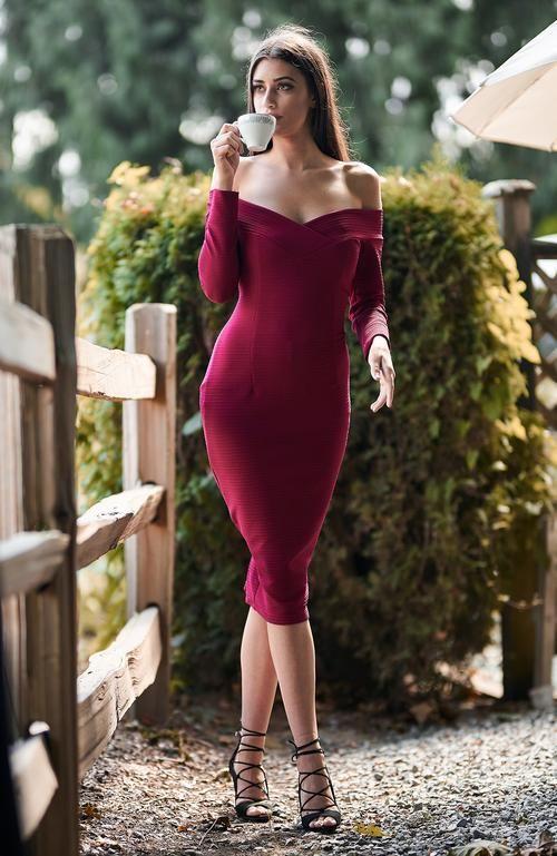 Kacie Red Dress
