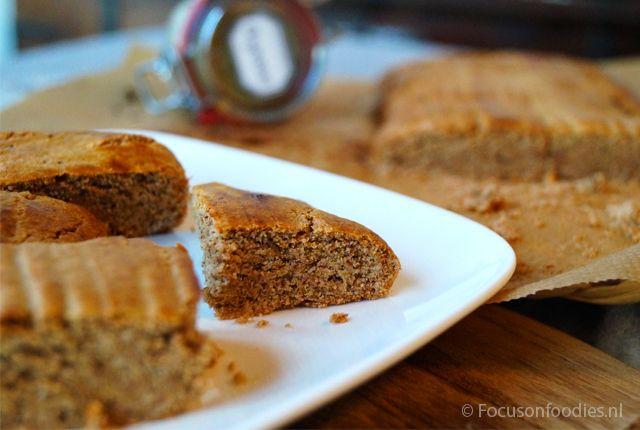 Glutenvrije taai taai, gezoet met honing
