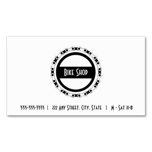 195 Best Bicycle Business Cards Images On Pinterest Business