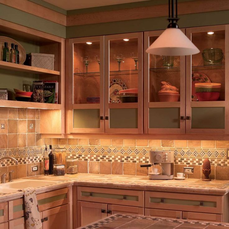 How to Install Under Cabinet Lighting in Your Kitchen ...