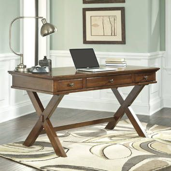 Collective Furniture Burkesville Wood Writing Desk & Reviews | Temple & Webster