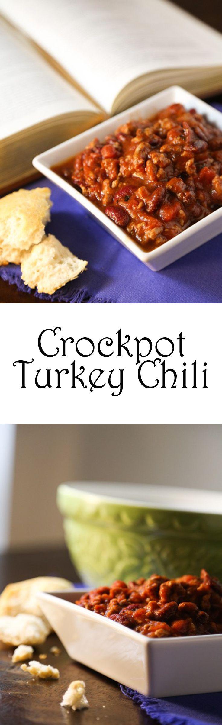Crockpot Turkey Chili - Lowfat, high protein, low carb