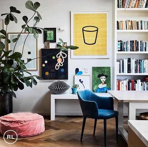 Tahnee Carroll (@taper_jean_girl) features the GlobeWest Carter armchair in teal velvet as part of Rachel Castle's home for Real Living Magazine. Photo @sharyncairns #globewest #velvet #jeweltones #interior #decor #luxe #classic