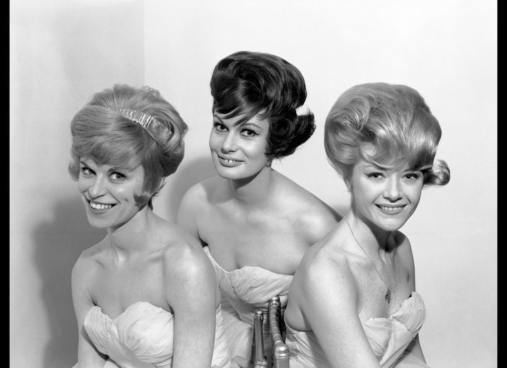 Hair Style 60s: 183 Best Images About Bouffant On Pinterest