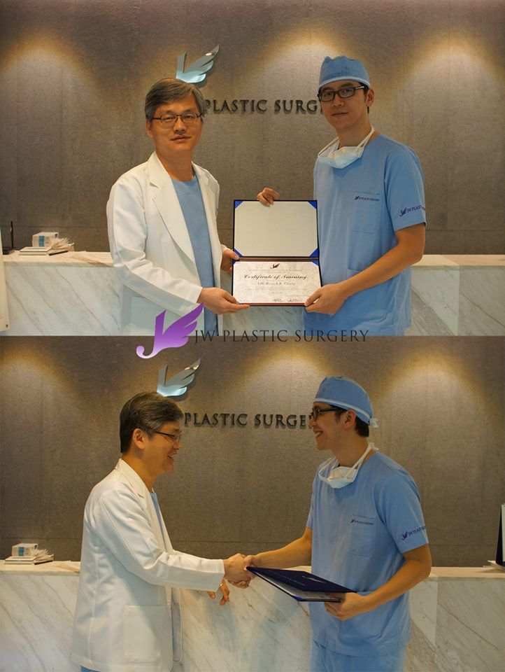 [JW Plastic Surgery Korea's Doctor Training Program]   Dr. Ryan F.R. Chang was trained on 24th of April in JW. He came to JW for training November last year. We are glad that he visited again.  JW Plastic Surgery Korea  598-6 Shinsa, Gangnam, Seoul, South Korea  English Hotline : +82-1057685114/ 1071955114 Kakao Talk ID : jwps / jwbeautykr E-mail : jw_beauty@naver.com