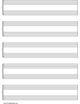 This letter-sized music (manuscript) paper shows the grand staff and is in portrait (vertical) orientation. Free to download and print