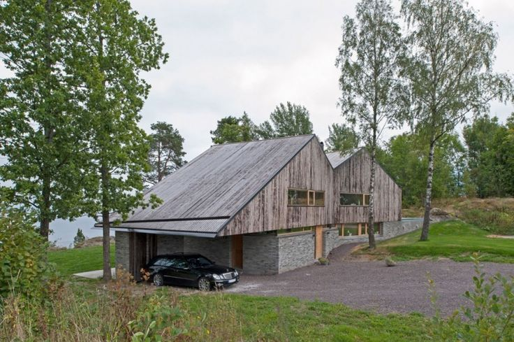 The Perfect Lake House of the Off/Ramberg House: Garage Of Offramberg House   By Schjelderup Trondahl Architects