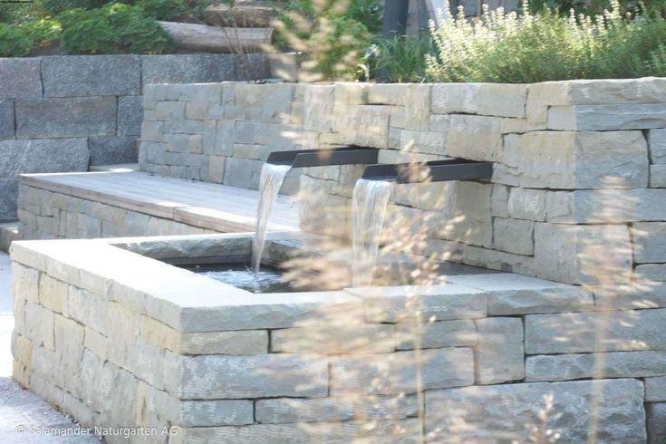 Brunnen Garten Gartengestaltung Mit Modern Schon Even If The