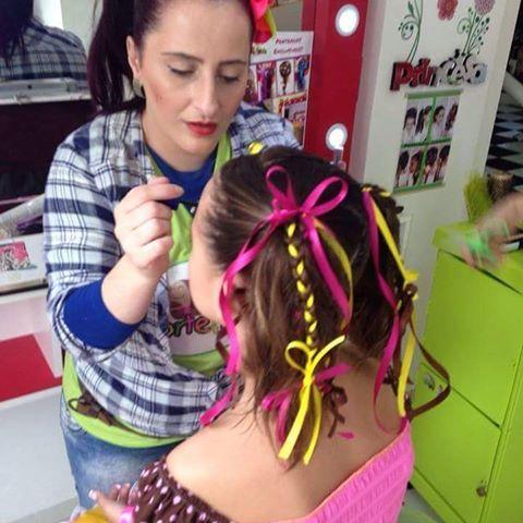 Penteados juninos no Corte kids!   #cortekids #saocaetano #instababy #cabeloinfantil #abc #abcfamily #saobernardo #santoandre #dicakids #saopaulo #criança#junina #festajunina