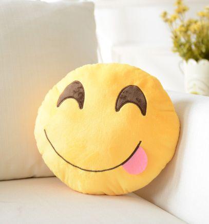 K*Waii Regalitos Frikis y Divertidos - Cojín Emoji Smile http://www.regalitolindo.cl/product/168800/cojin-emoji-smile