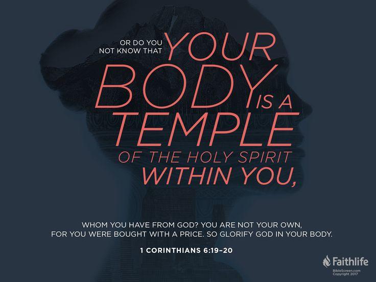 1 Corinthians 6:19–20
