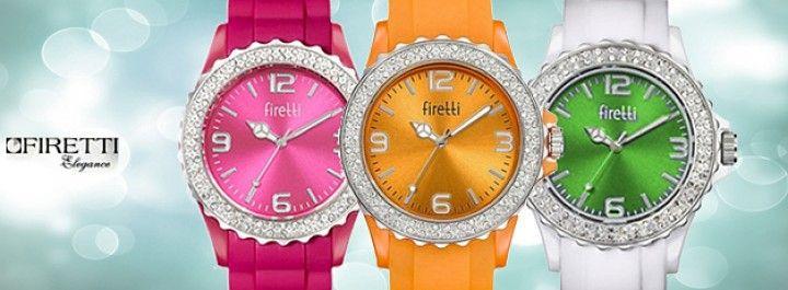 Dámské hodinky Firreti: perfektní kvalita a super vzhled! Výběr z 5  barev.