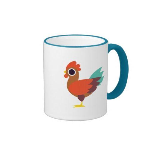 Chester the Rooster. Regalos, Gifts. Producto disponible en tienda Zazzle. Tazón, desayuno, té, café. Product available in Zazzle store. Bowl, breakfast, tea, coffee. #taza #mug