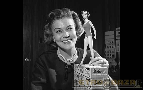 ab4a62ec34c7 The Barbie doll was invented in 1959 by Ruth Handler (co-founder of  Mattel)