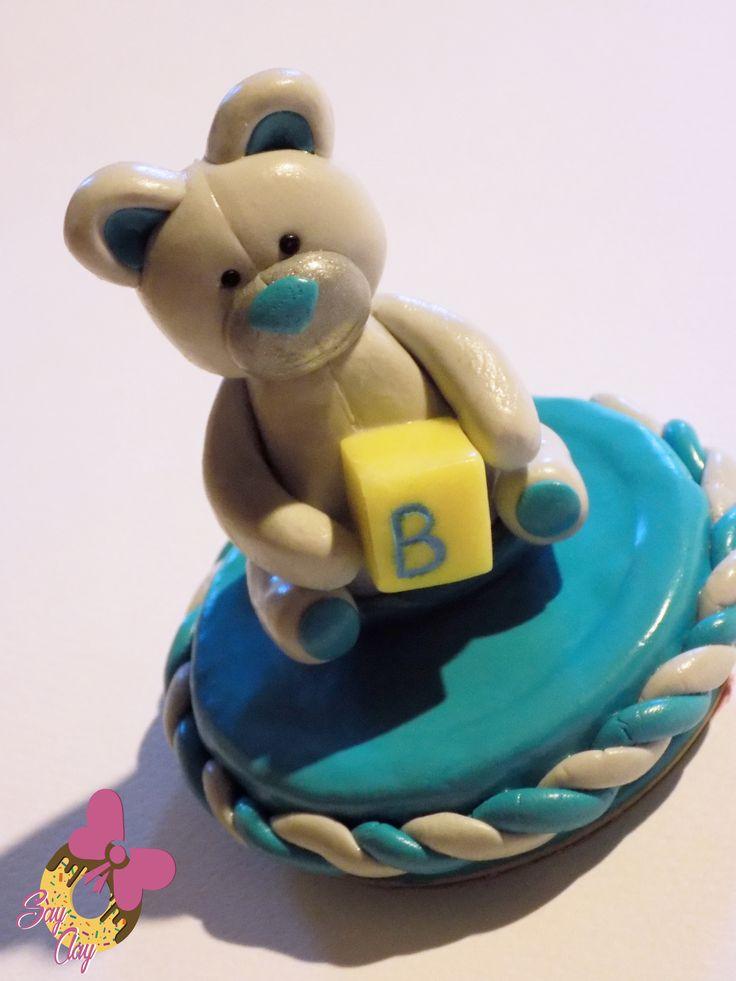Polymer Clay Teddy Bear By Say Clay