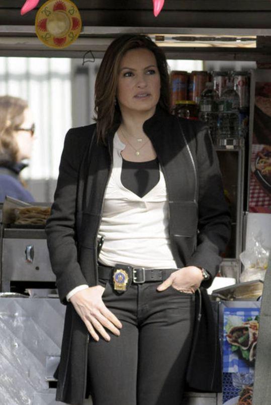Mariska Hargitay.....Detective Olivia Benson.....Law & Order SVU