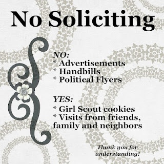 No soliciting sign for your home front door.  Need to make this ASAP and need to…