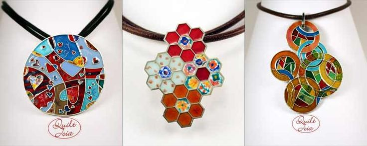 QuiltJoia: el patchwork hecho joya   Portaldelabores.com   Portal de labores