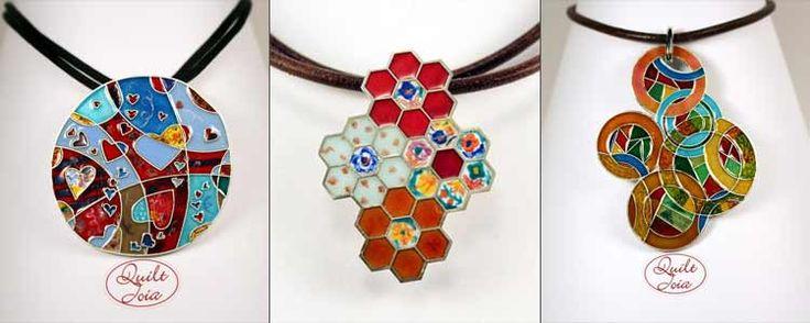 QuiltJoia: el patchwork hecho joya | Portaldelabores.com | Portal de labores