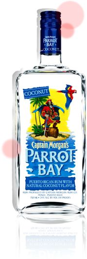 Captain Morgan Parrot Bay ®  Who doesn't love Parrot Bay?  Mix this with some white cranberry-peach juice and some crushed ice and enjoy your summer!