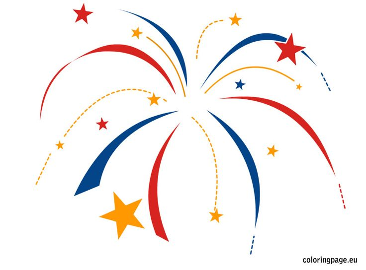 1000 images about 4th of july on pinterest coloring for Fireworks coloring pages 4th july