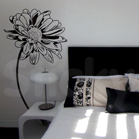 Wall Sticker SUNFLOWER by Sticky!!!