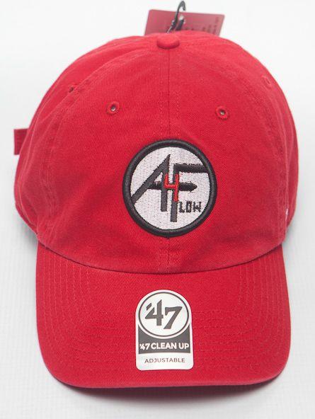 Red 4A FLOW LOGO®  47 CLEAN UP Cap  7bd20ea79876