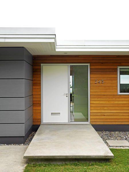 Modern House Siding Ideas. Best Decorations Modern Wood Wall Panel ...