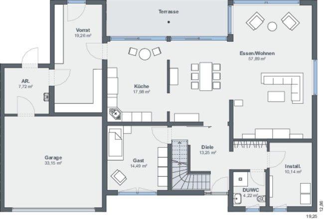 Weberhaus offen einladend und modern home plans for Smallhouse weberhaus