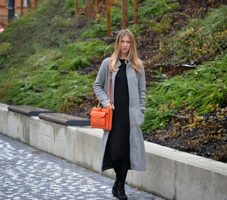 Style of Lucie Redlich: Long coat Zara