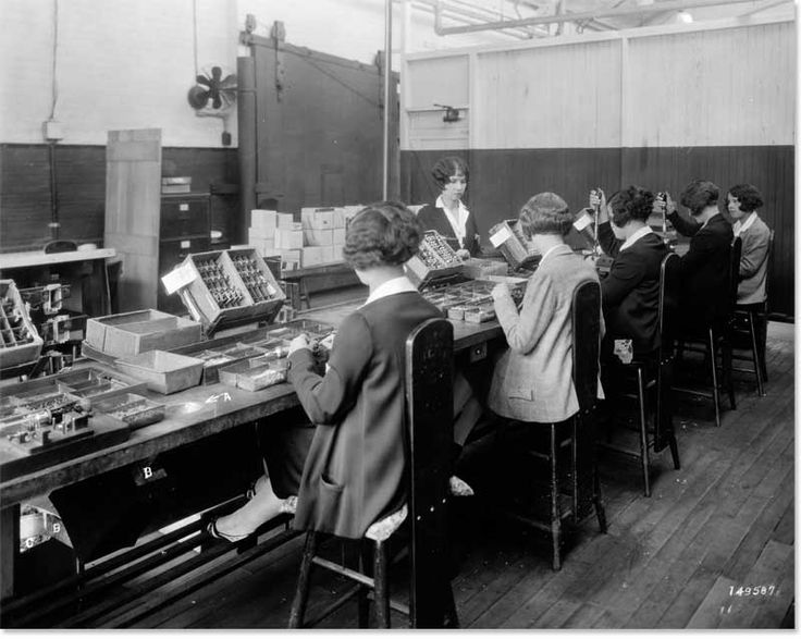 Women in the Relay Assembly Test Room, ca. 1930 Western Electric Company Hawthorne Studies Collection © 2007 President and Fellows of Harvard College; all rights reserved.