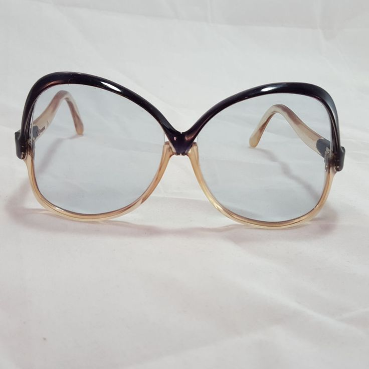 Vintage 70s Sunglasses Butterfly Oversized Womens Jackie O Style Made In France in Clothing, Shoes & Accessories, Vintage, Vintage Accessories | eBay