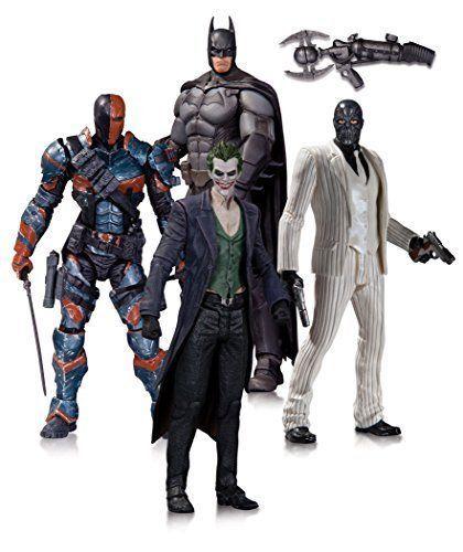DC Batman Collectibles 4 Pack Figure Action Arkham Series Comics 1 Origins Joker #DCCollectibles