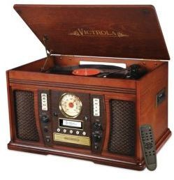 Nostalgic Bluetooth Record Player, gifts for men, gifts for him, gifts for boyfriend, gifts for father, gifts for dad